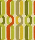 Home Decor 8\u0022x8\u0022 Fabric Swatch-Waverly A New Twist/Seaweed