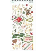 Heidi Swapp Winter Wonderland Cardstock Stickers 93/Pkg, , hi-res