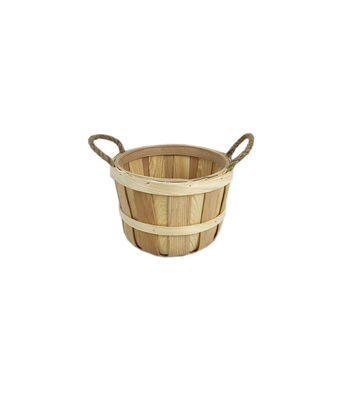 Small Basket with Rope Handles