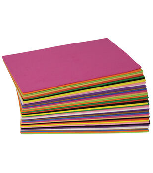 WonderFoam 240 pk 5.5''x8.5'' Sheets-Assorted