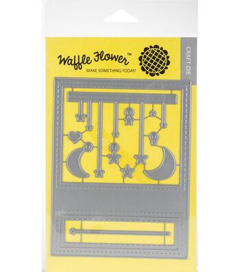 Waffle Flower Die-Moon & Stars Panel