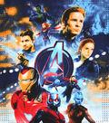 Marvel No Sew Fleece Throw-Avengers IV Character Montage