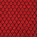 Yaya Han Collection Holographic Dragon Scales-Red