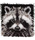 Wonderart Latch Hook Kit 12\u0022X12\u0022-Raccoon