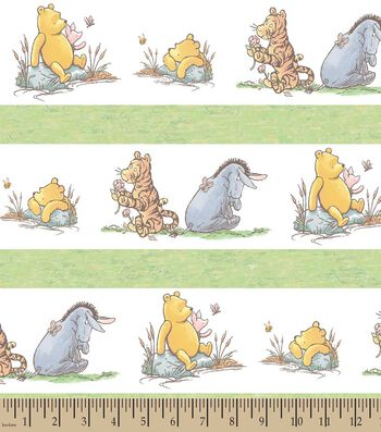 Disney Classic Pooh & Friends Print Fabric