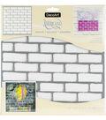 DecoArt Americana 12\u0027\u0027x12\u0027\u0027 Stencil-Brick Wall