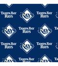 Tampa Bay Rays Fleece Fabric -Logo