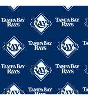 "Tampa Bay Rays Fleece Fabric 58""-Logo, , hi-res"