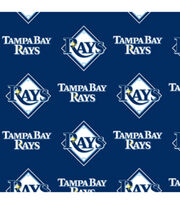 Tampa Bay Rays Fleece Fabric -Logo, , hi-res