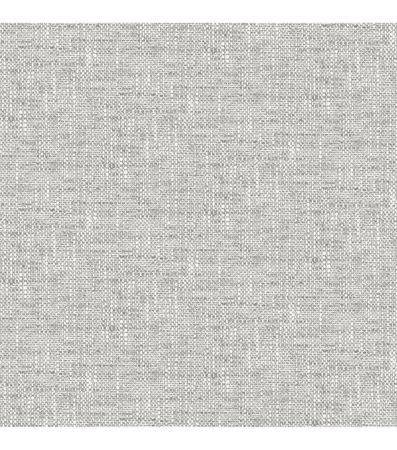 Wallpops Nuwallpaper Peel Stick Wallpaper Gray Poplin Texture Joann