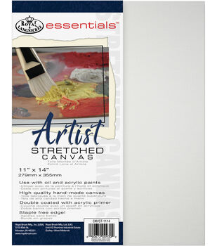Royal & Langnickel Essentials 11''x14'' Artist Stretched Canvas