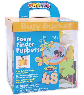 Darice Foam Kit-48PK/Finger Puppets