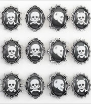 Jolee's Boutique Dimensional Stickers-Skull Cameos, , hi-res