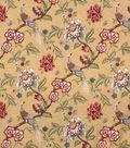 Home Decor 8\u0022x8\u0022 Fabric Swatch-Jaclyn Smith France-Crimson
