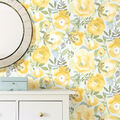 Wallpops Peel & Stick Wallpaper-Peachy Keen Yellow