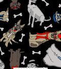 Blizzard Fleece Fabric 59\u0027\u0027-Dog Gone Cool