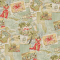 PKL Studio Outdoor Fabric-Greetings from Paradise Seaglass