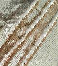 Casa Embellish Dahlia Fashion Sequin Fabric 51\u0027\u0027-Champagne
