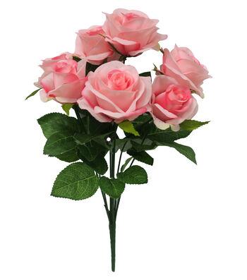 Fresh Picked Spring Rose Bush-Pink