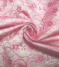Glitterbug Brocade Fabric 59\u0027\u0027-Iridescent Pink & Fuchsia Butterfly