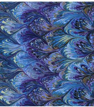 Legacy Studio Premium Cotton Fabric -Rainbow Oil Slick