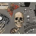Halloween Cotton Fabric-Seance