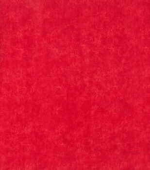 Wide Flannel Fabric -Red Blender