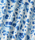 Kelly Ripa Home Upholstery Décor Fabric-Chit Chat Bluebell