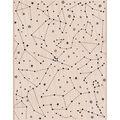 Hero Arts Mounted Rubber stamps 4.25\u0022X5.5\u0022-Constellation Background