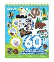 Perler 14-sheet Nature Pattern Idea Book, , hi-res