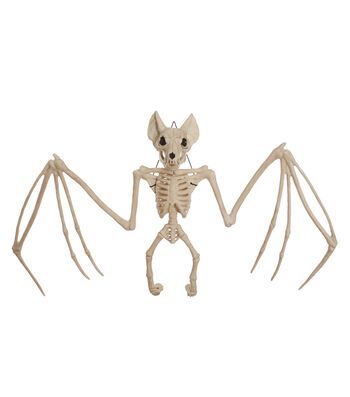 The Boneyard Halloween Bat with Large Bones