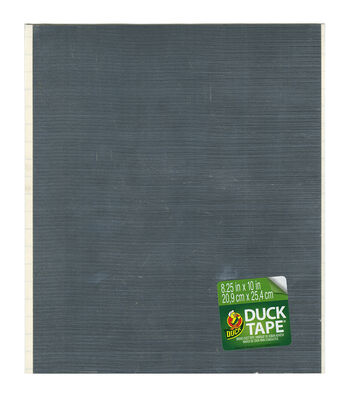 "Duck Tape Single Sheets 8.25""X10""-Chrome"