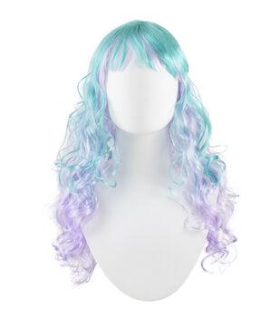 Maker's Halloween Adult Wig-Mermaid