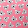 Blizzard Fleece Fabric-Tossed Koala