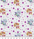 Nick Junior Paw Patrol Cotton Fabric -Pup Power