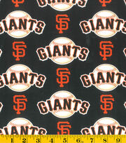 San Francisco Giants Cotton Fabric -Logo, , hi-res