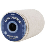 Darice Craft Designer 3mm/32 Ply Macrame Cord-50yds, , hi-res