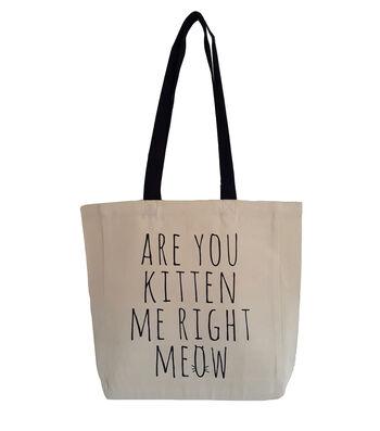Canvas Tote-Kitten Me