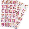 Wrights Disney Princess 65 pk Alphabet Iron-On Transfers