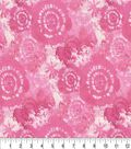 Keepsake Calico Cotton Fabric -Pink Tie Dye