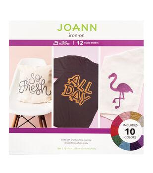 Joann Iron-On Sheets-Glitter