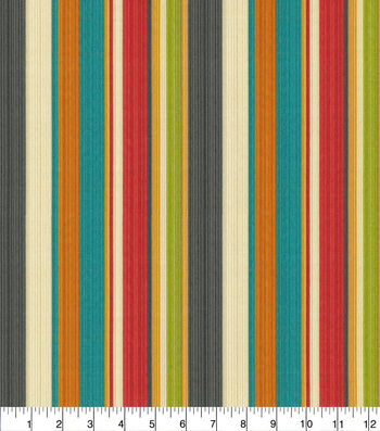"Waverly Sun N' Shade Outdoor Fabric 54""-Draw the Line Fiesta"