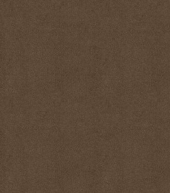 "Signature Series Multi-Purpose Faux Suede Decor Fabric 58""-Roasted Coffee"