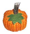 Simply Autumn Extra Small Braided Pumpkin-Orange