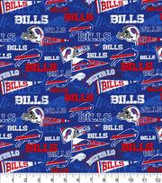 Buffalo Bills Cotton Fabric-Retro, , hi-res