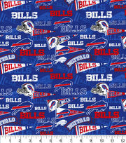 Buffalo Bills Cotton Fabric-Retro, , hi-res