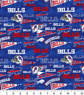 Buffalo Bills Cotton Fabric-Retro
