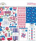 Doodlebug Essentials Page Kit 12\u0022X12\u0022-Yankee Doodle