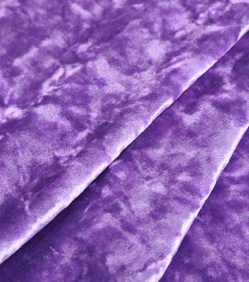 "The Witching Hour Halloween Crossed Dye Velvet Fabric 60""-Purple/Green"
