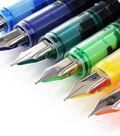 Thornton\u0027s Art Supply Disposable Medium Fountain Pens 12Pk-Assorted